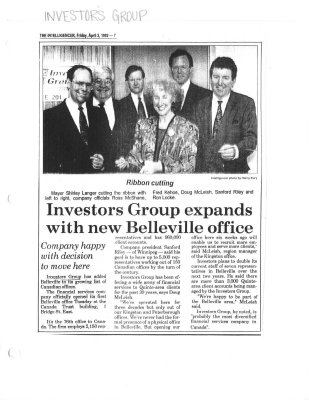 Investors Group expands with new Belleville office