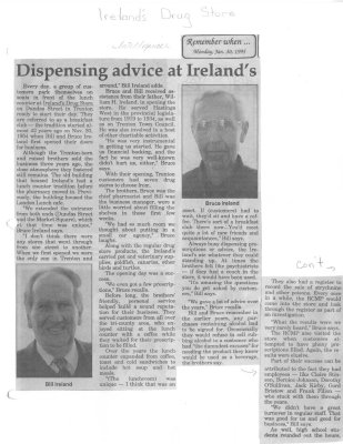 Remember when: Dispensing advice at Ireland's