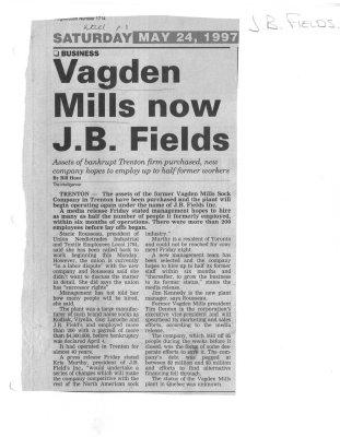 Vagden Mills now J.B. Fields