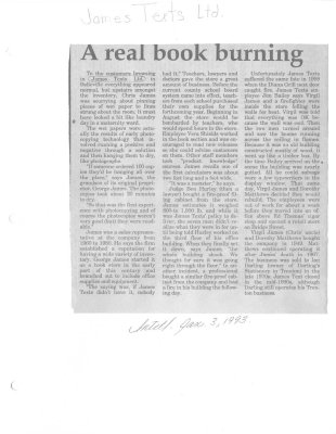Remember when: A real book burning