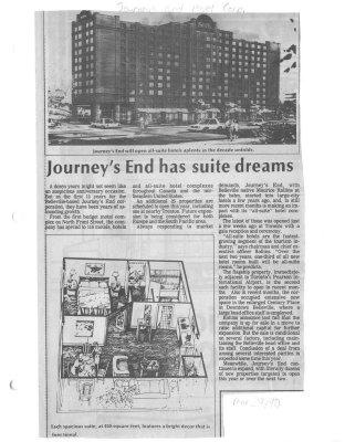 Journey's End has suite dreams