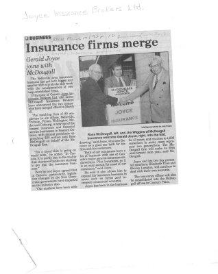 Insurance firms merge