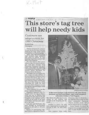This store's tag tree will help needy kids