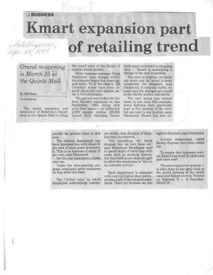 Kmart expansion part of retailing trend