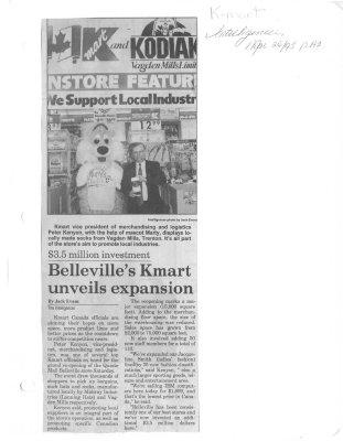 Belleville's Kmart unveils expansion
