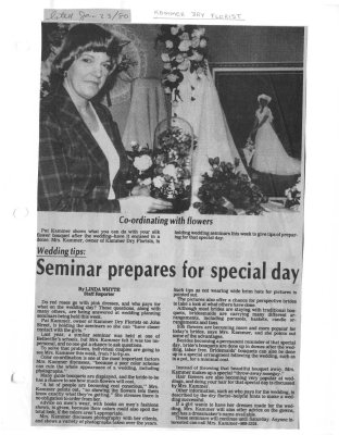 Seminar prepares for special day
