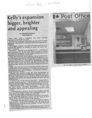 Kelly's expansion bigger, brighter and appealing