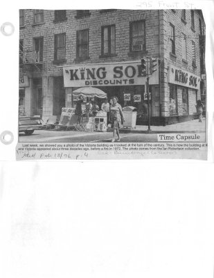 Time Capsule - King Sol 295 Front St.