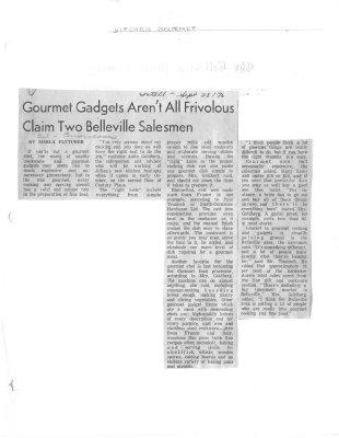 Gourmet Gadgets Aren't Al Frivolous Claim Two Belleville Salesmen