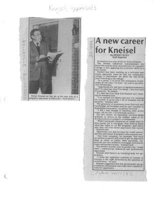 A new career for Kneisel
