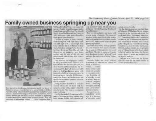 Family owned business springing up near you