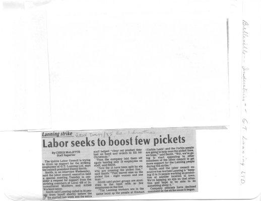 Labor seeks to boost few pickets
