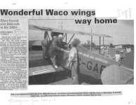 Wonderful Waco Wings Way Home