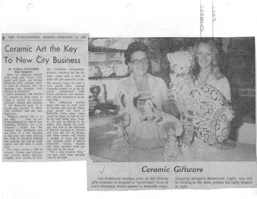 Ceramic Art the Key to new City Business