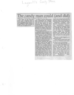 Remember When: The candy man could (and did)