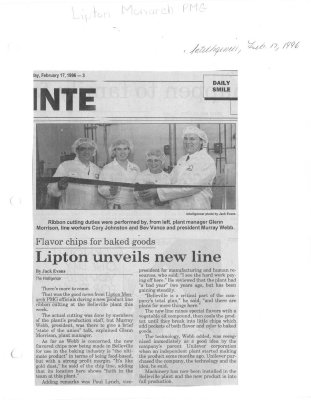 Lipton unveils new line