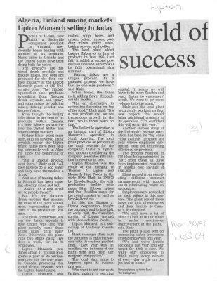World of success