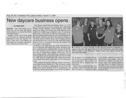 New daycare business opens