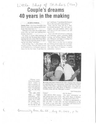 Couple's dreams 40 years in the making