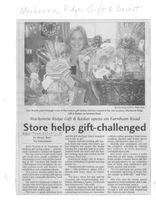 Store helps gift-challenged