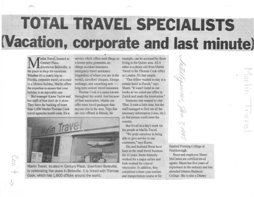 Total Travel Specialists (Vacation, corporate and last minute)
