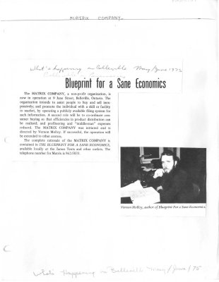 Blueprint for a Sane Economics
