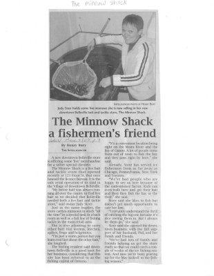 The Minnow Shack a fishermen's friend