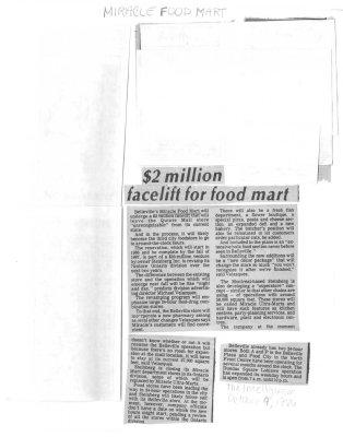 $2 million facelift for food mart