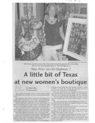 A little bit of Texas at new women's boutique