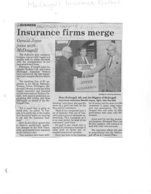 Insurance firms merge