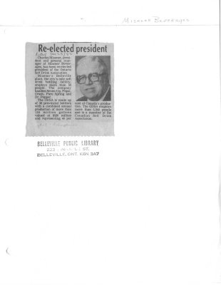 Re-elected president