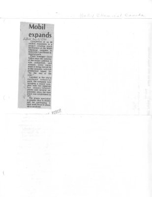 Mobil Expands