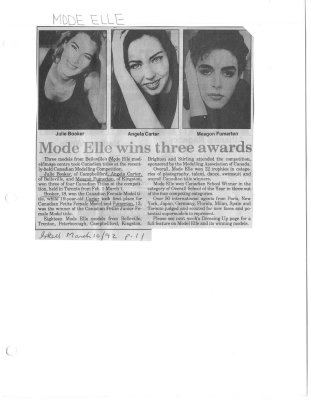 Mode Elle wins three awards