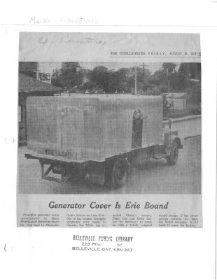 Generator Cover is Erie Bound