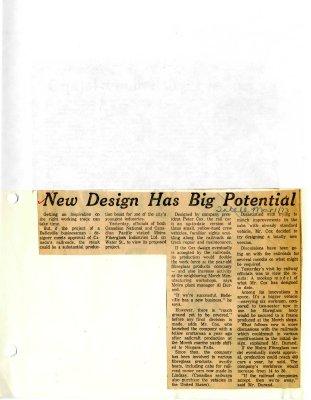 New Design Has Big Potential
