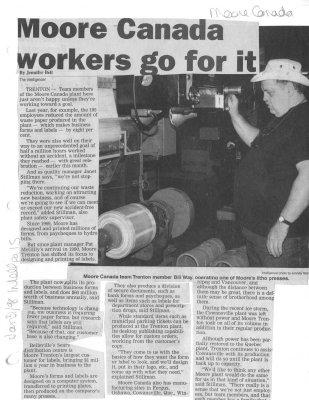 Moor Canada workers go for it