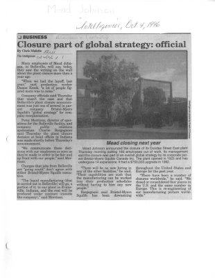 Closure part of global strategy: official