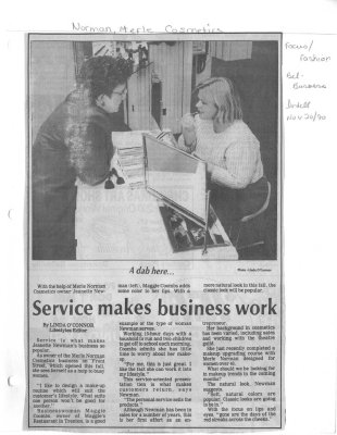 Service makes business work
