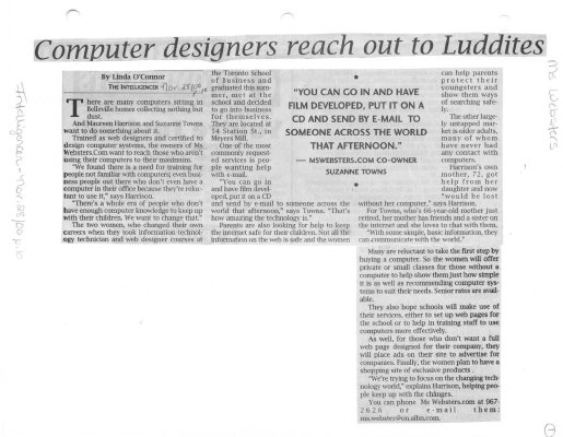 Computer designers reach out to Luddites