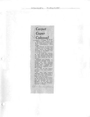 Carpet Caper Colossal