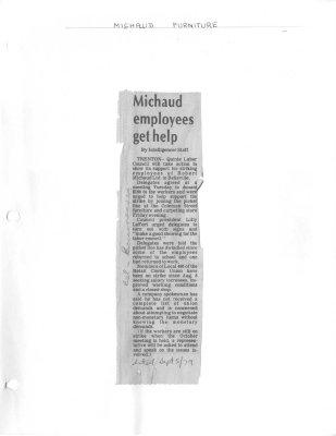 Michaud employees get help