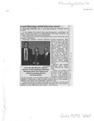 Local MicroAge dealership wins award