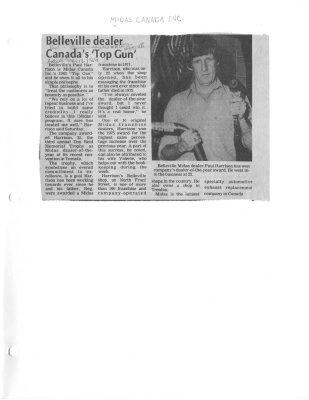 Belleville dealer Canada's 'Top Gun'