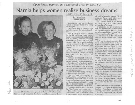 Narnia helps women realize business dreams