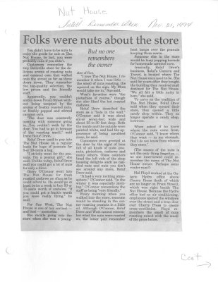 Folks were nuts about the store. But no one remembers the owner