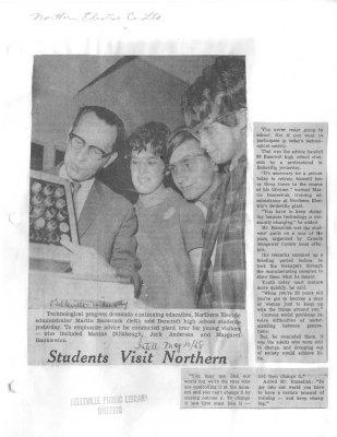 Students Visit Northern