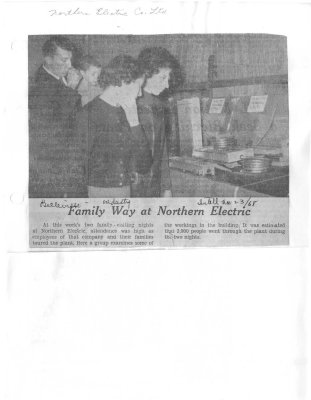 Family Way at Northern Electric
