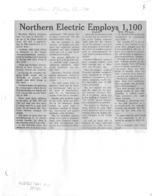 Northern Electric employs 1,100