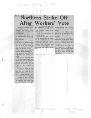 Northern strike off after workers' vote