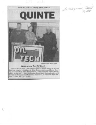 New home for Oil Tech